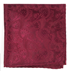 Similar Item - Burgundy Twill Paisley Pocket Square