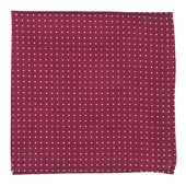 Pocket Squares - Mini Dots - Burgundy