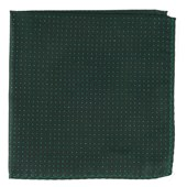 POCKET SQUARES - FLICKER - HUNTER GREEN