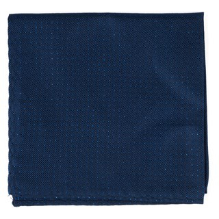 Flicker Navy Pocket Square