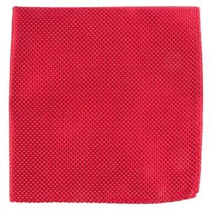 pinpoint red pocket square
