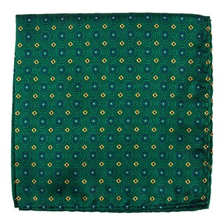 midtown medallions hunter green pocket square
