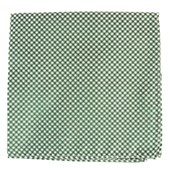 Pocket Squares - Bahama Checks - Hunter Green