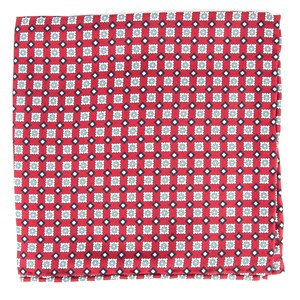 south padre geos red pocket square