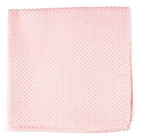 BLUSH PINK Be Married Checks pocket square