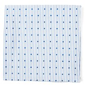 Pocket Squares - Down The Aisle Dots - Classic Blue