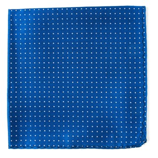 Mini Dots Royal Blue Pocket Square