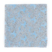 Pocket Squares - Hanging Paisley - Mystic Blue