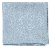 Pocket Squares - Bracken Blossom - Sky Blue