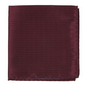sound wave herringbone burgundy pocket square