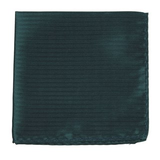sound wave herringbone hunter green pocket square