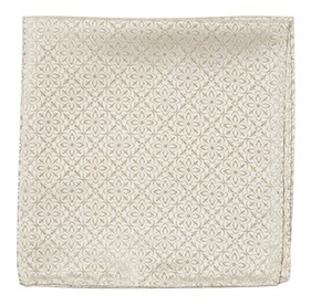 Light Champagne Opulent pocket square