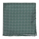 Pocket Squares - Spinner - Hunter Green