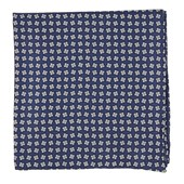 Pocket Squares - Spinner - Navy