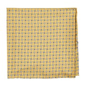 Pocket Squares - Spinner - Yellow
