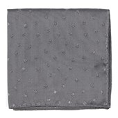 Pocket Squares - Circle Soiree - Grey