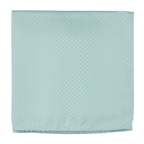 Spearmint Be Married Checks Pocket Square