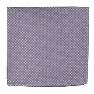 Be Married Checks Lavender Pocket Square