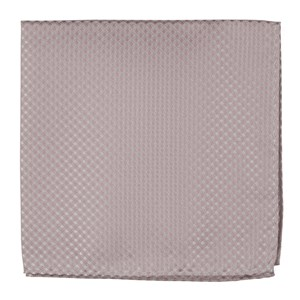 be married checks soft pink pocket square