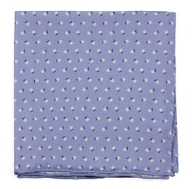 Wonder Floral Lilac pocket square