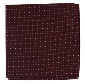 Wine Mini Dots pocket square