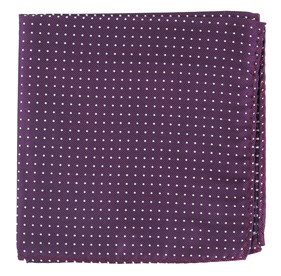 Azalea Mini Dots pocket square