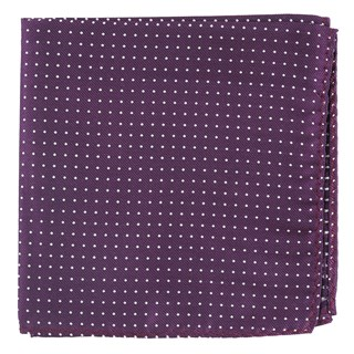 Mini Dots Azalea Pocket Square