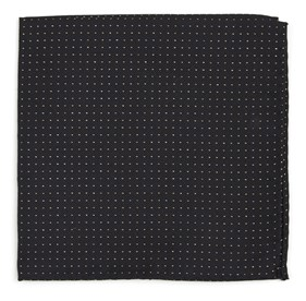 Classic Black Flicker pocket square