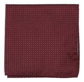 BURGUNDY Flicker pocket square