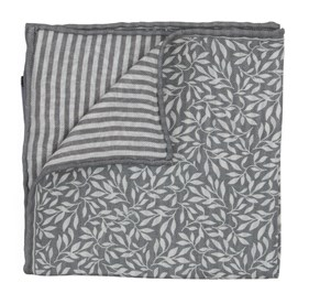 Grey Sprout Measure pocket square