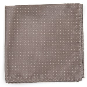 mini dots sandstone pocket square