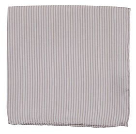 Dusty Blush Mumu Weddings - Coastal Stripe pocket square