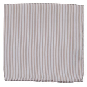 mumu weddings - coastal stripe dusty blush pocket square