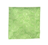 Pocket Squares - Twill Paisley - Apple