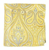 Pocket Squares - EMPIRE PAISLEY - BUTTER