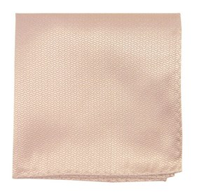 Tan Static Solid pocket square