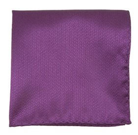 Plum Static Solid pocket square