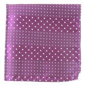 Pocket Squares - PULSATING DOTS - AZALEA