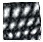 Pocket Squares - MARQUEE DOTS - BLACK