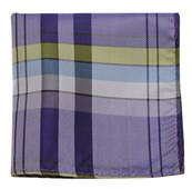 Pocket Squares - SUNRISE PLAID - PURPLE