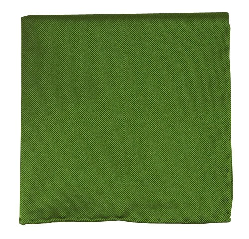 Solid Twill Clover Pocket Square