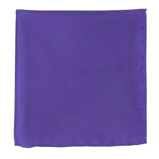 solid twill violet pocket square
