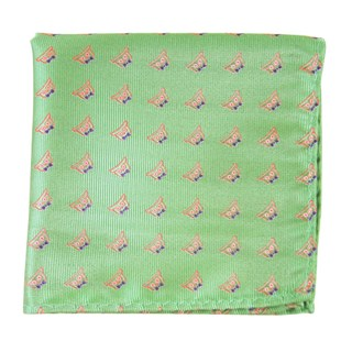 the signature spearmint pocket square