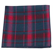 Pocket Squares - ABBEY PLAID - SERENE BLUE