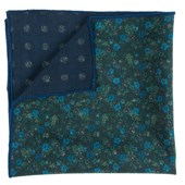 POCKET SQUARES - FLORAL ATTUNE - GREEN