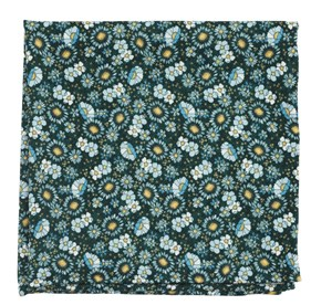 Hunter Flower City pocket square