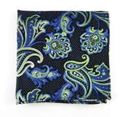 Pocket Squares - PIN PAISLEY - Apple