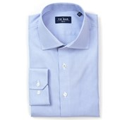 Dress Shirts - Micro Stripe Non-Iron Shirt - Blue