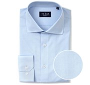 """Pinpoint Solid - Light Blue - Standard 14.5"""" x 32/33"""" - Shirts"""