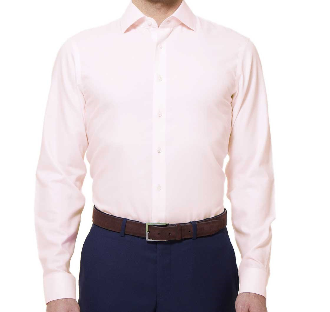 Textured Solid Dress Shirt - Light Pink | Ties, Bow Ties, and ...